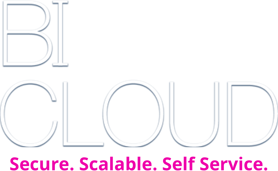 BI CLOUD logo- secure.scalable,self service